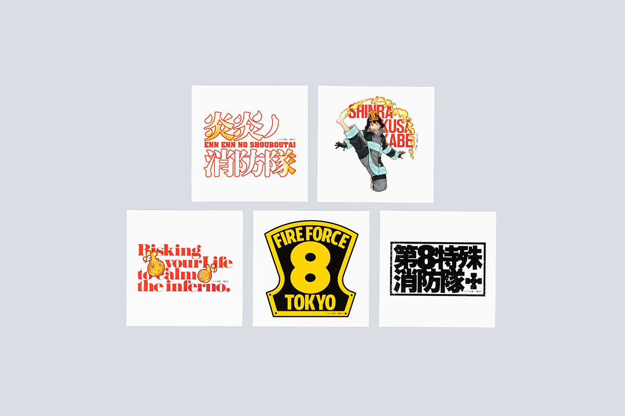 『炎炎ノ消防隊』渋谷駅大型サイネージ・交通広告・書店宣伝物の実績画像