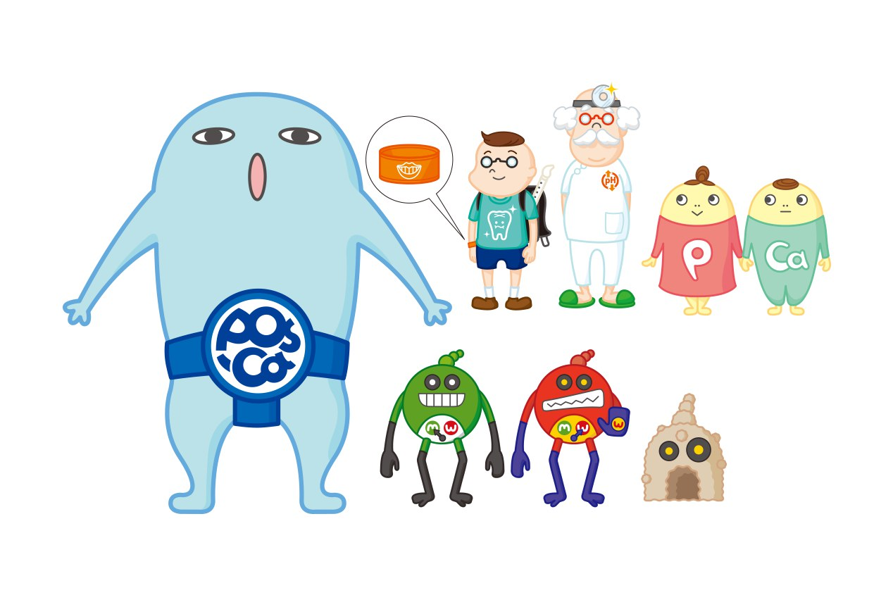 poscamキャラクター開発