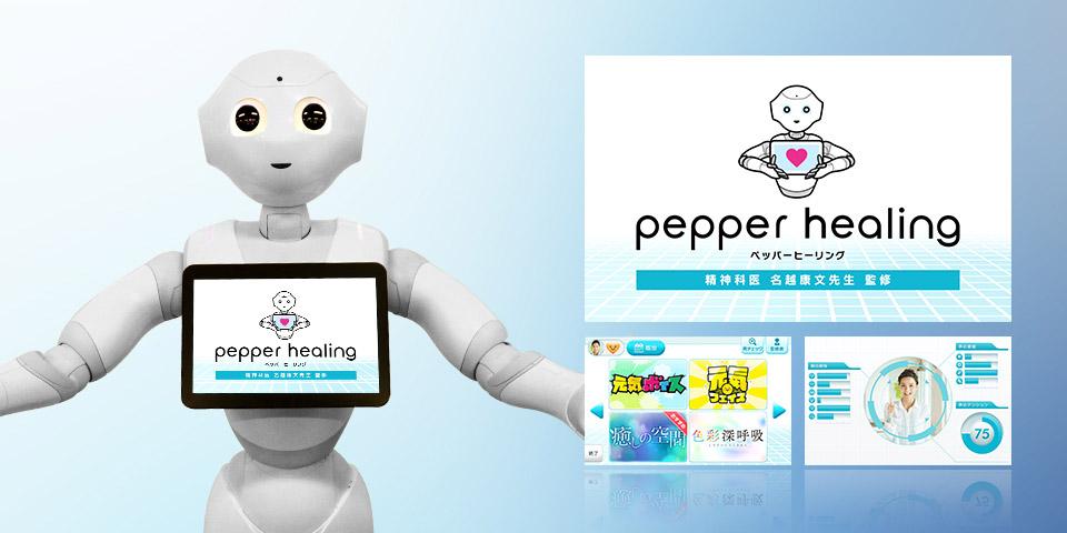 Pepperブレイン/Pepperヒーリング アプリケーション企画の実績画像